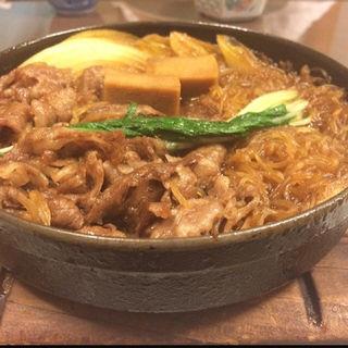 上すき焼鍋御膳(すき焼割烹 吉澤)