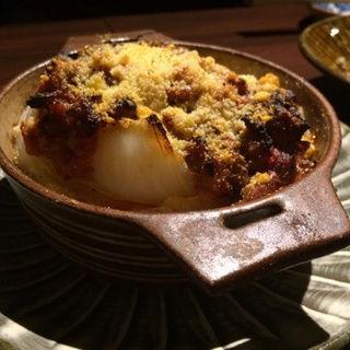 新玉葱と仔羊のチーズ焼(酒坊主 (Sakeria))