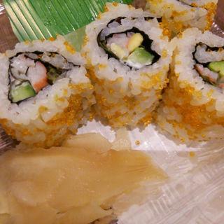 サラダ巻き寿司(翁鮨)