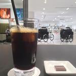 アイスコーヒー(バーニーズ カフェ バイ ザ クリーム オブ ザ クロップ コーヒー 銀座店)