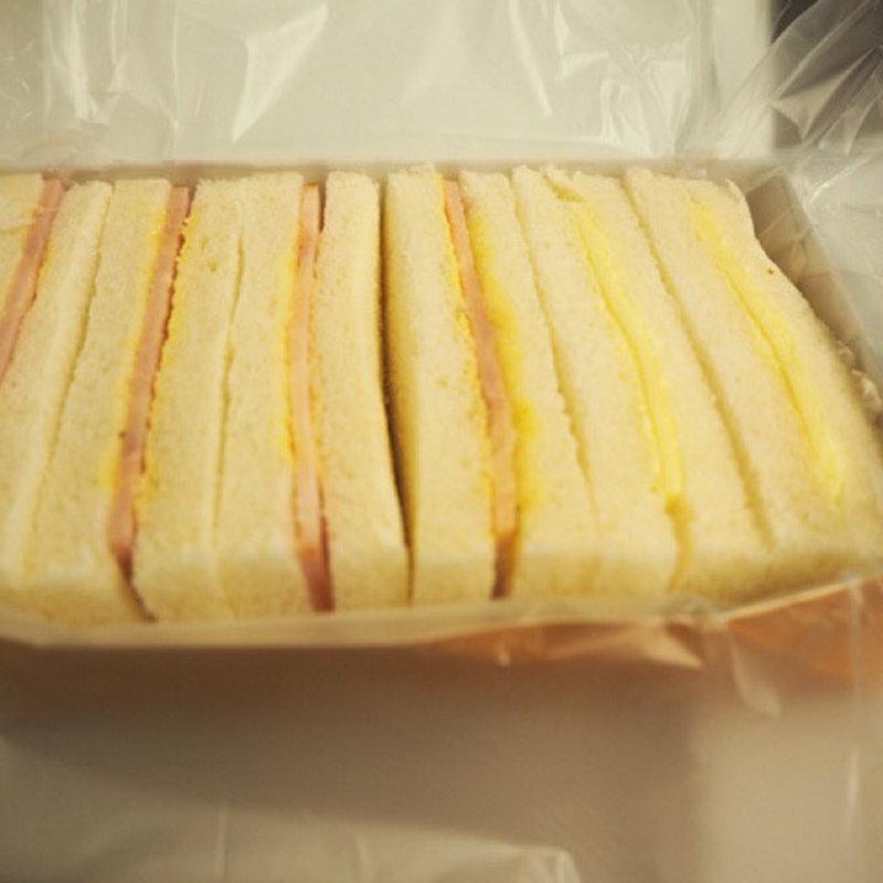 大船軒のサンドイッチ