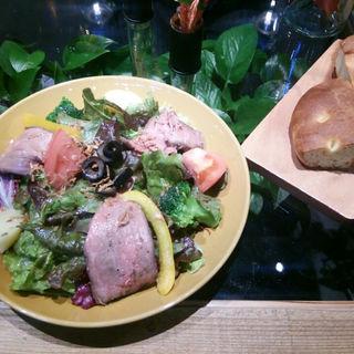 ローストビーフのサラダランチ(青山フラワーマーケット ティーハウス 赤坂Bizタワー店 (Aoyama Flower Market TEA HOUSE))