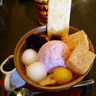 おいも鎌倉パフェ(おいもカフェ 金糸雀)