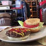 ハンバーガー(ドリンクセット)