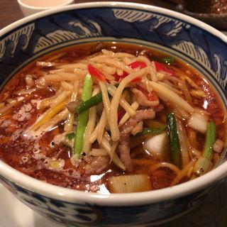 サンラータンメン(中国料理 香旬 (チュウゴクリョウリコウシュン))