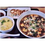 麻婆タンメン+餃子+半炒飯