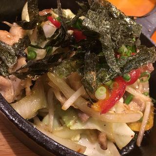 鶏セセリの鉄板焼き(GRILL KING (グリルキング))