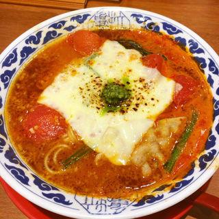 チーズトマトラーメン(らーめん亀王 道頓堀店 )