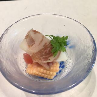 プロシュートと野菜のピクルス(久右衛門邸 )