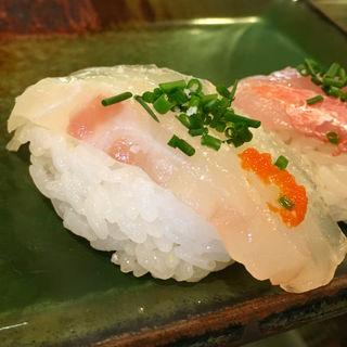 鯛の昆布〆(たく海 )