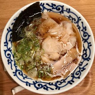 ワンタン麺(支那そば月や博多駅デイトス店)