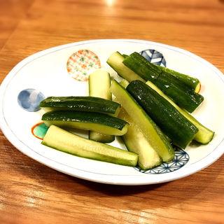 ごま塩きゅうり(磯丸水産 恵比寿西口店 )