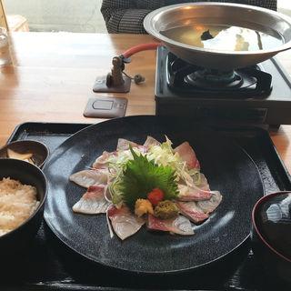 ブリしゃぶ定食(いわて三陸水産組合 )