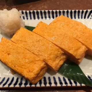 こだわり卵の出汁巻き玉子(魚米 新宿店)