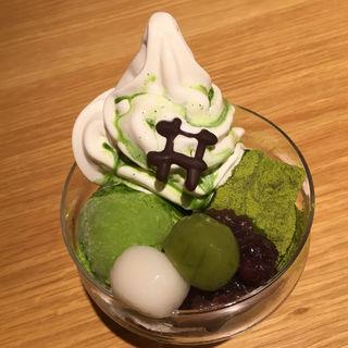 井筒パフェ抹茶(イヅツカフェ (IZUTSU CAFE))