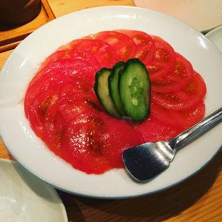 トマトサラダ(鶏繁 芝大門店 (とりしげ))