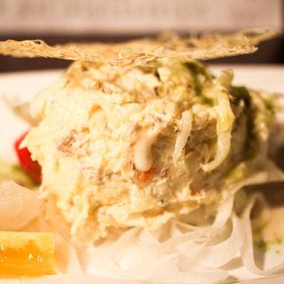鯖ツナでポテトサラダ(きはる )