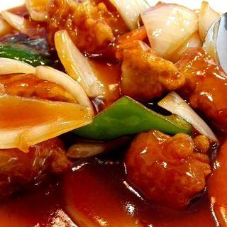 酢豚定食(一級棒)