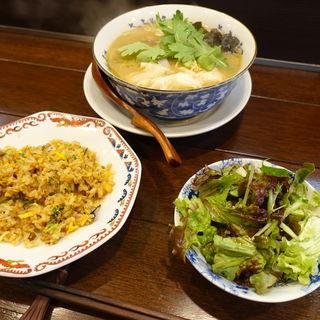 チャーシューワンタンメン定食(純喜 (ジュンキ))