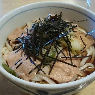 冷やし肉うどん(中盛り)(笹川食堂 )