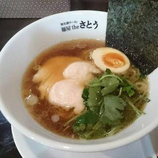 しょうゆ(麺屋theさとう )