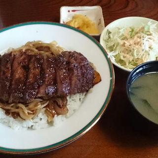 銀ステーキ丼(季分屋 (キブンヤ))