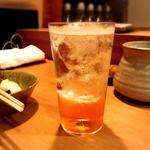 梅酒ソーダ割り