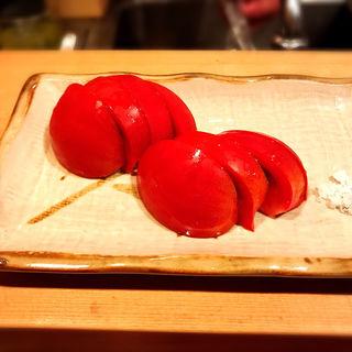 冷やしトマト(鳥よし 中目黒店 (とりよし))