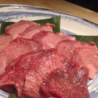 尾崎牛の牛タン炭火焼(燈みやび (HIMIYABI))