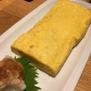 出汁巻き玉子(酒家鶏処 炭寅 神楽坂店 )