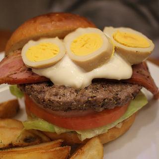 モクモク煙バーガー(burger house UZU (バーガーハウス ウズ))