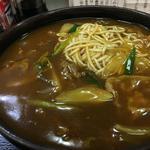 カレー蕎麦