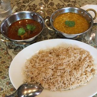 ランチ🅱セット(ラヒ パンジャービー・キッチン (Rahi Punjabi Kitchen))