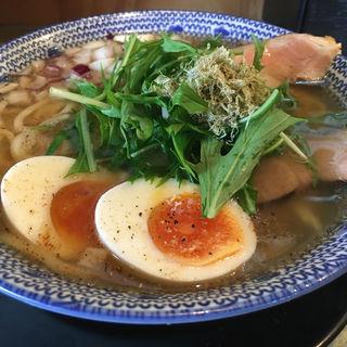 飛魚味玉そば(島田製麺食堂 )