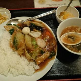 中華丼(故郷 味新橋店 (ふるさと あじ))