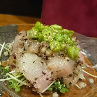 青森県産鮮魚カルパッチョ(ボワ ヴェール (Bois Vert))