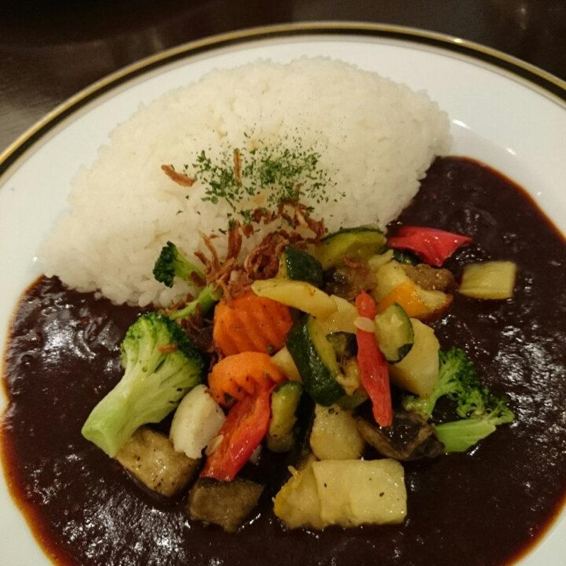 彩り野菜の早矢仕ライス