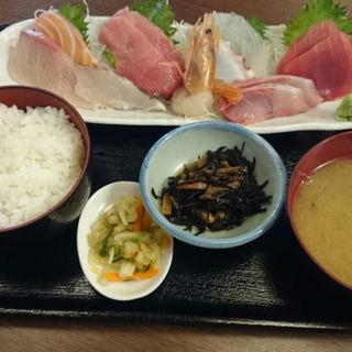特上刺身定食(海宝丸)