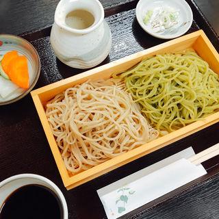変わり蕎麦の合い盛り(和 (kazu))