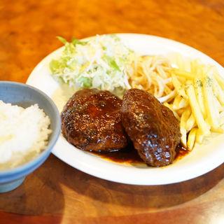 煮込みハンバーグ(Cafe風和 )