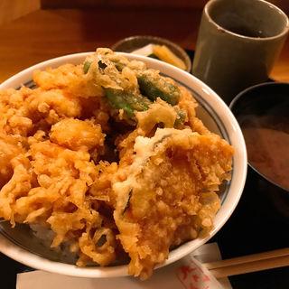 かき揚げ丼(天さく )