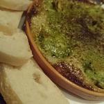つぶ貝のエスカルゴバター焼き