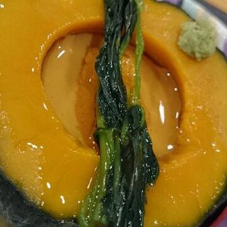 かぼちゃの茶碗蒸し(鮨処いとう (すしところいとう))
