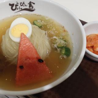 盛岡冷麺(ぴょんぴょん舎 稲荷町本店 (ピョンピョンシャ))