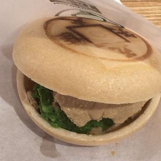 つくばいアイス最中ミックス(ほうじ茶&濃抹茶)(たつどう(TATSU・DO))