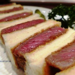 熟成牛肉のカツサンド( Dハートマン)
