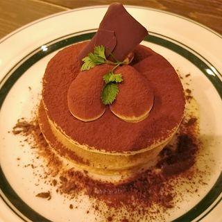 ティラミスのパンケーキ(cafe & pancake gram)