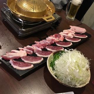 鴨焼肉ねぎま鍋(天満鴨バルねぎま)