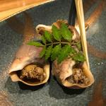 つぶ貝(酒と蕎麦 まき野)