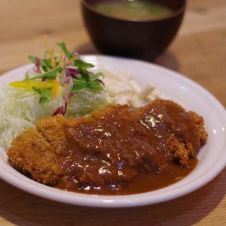 ビーフカツ(洋食のオーニシ)